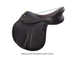 measure a saddle