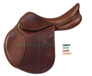 saddle measuring